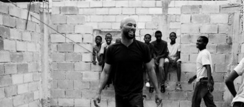 Common Dreams: MyBrownBaby's Favorite Hip Hop Artist Teams With CNN To Help Haitian Children