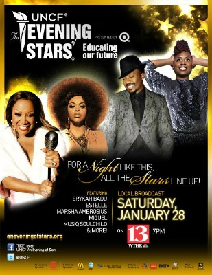 Post image for Watch Jill Scott, Erykah Badu, Ledisi & More In Tonight's UNCF An Evening Of Stars