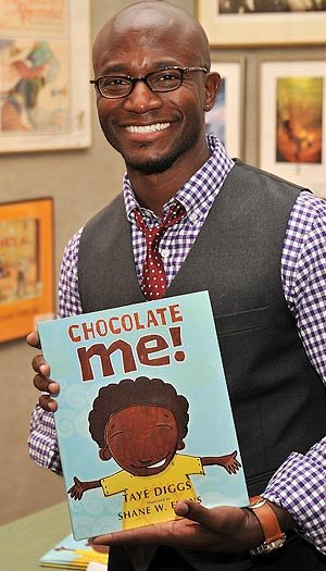 "Post image for Taye Diggs Says Tyson Beckford Helped Him Love the Skin He's In—Plus: A ""Chocolate Me"" Giveaway"