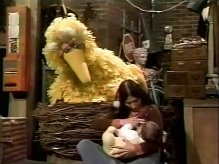 Post image for Breastfeeding On Sesame Street: Children Should Learn About Nursing
