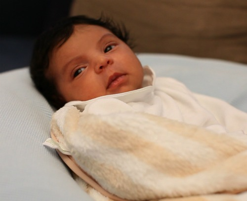 First Pictures Of Blue Ivy Carter: Check Out Beyonce & Jay-Z's Beautiful Baby!