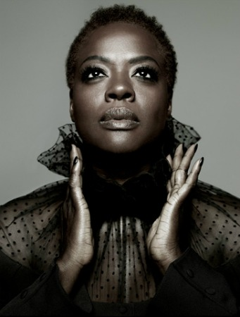 """The Help"" Star Viola Davis Rocks Natural Hair In LA Times Mag And Talks Black Women In Film"