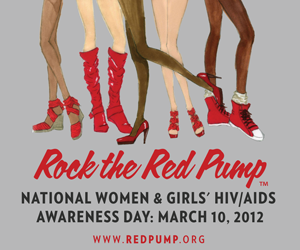 MyBrownBaby Is Rocking the Red Pump In Support Of Women and Teens Affected By HIV & AIDS