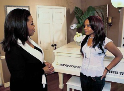 "Bobbi Kristina On Oprah: Whitney Houston's Spirit Tells Me To ""Keep Going, Baby."""