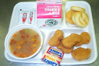 "U.S.D.A. Approved Pink Slime ""Meat"" Is Bad News for School Lunches"
