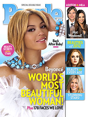 Post image for Beyonce Is People&#8217;s World&#8217;s Most Beautiful Woman 2012and She Says Blue Ivy Made It So