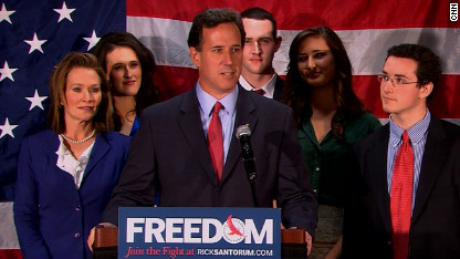As Rick Santorum Drops Out, I Feel His Family's Pain—But I'm Glad to See Him Go