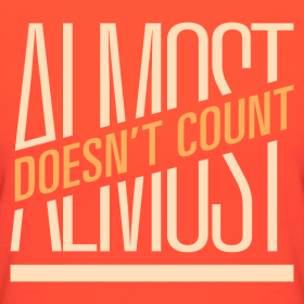 Almost Doesn't Count: Learning To Say Enough Is Enough When Love Is Incomplete