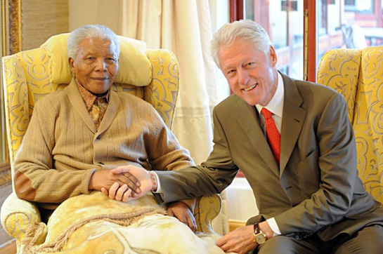 Happy Birthday, Nelson Mandela. The World Loves and Honors You.