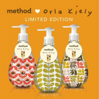 Post image for Method + Orla Kiely = Pure, #CleanHappy Bliss In A Bottle