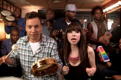 "Jimmy Fallon and The Roots' ""Call Me Maybe"" Cover With Carly Rae Jepsen Makes Me Giggle"