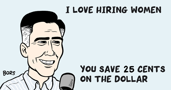 There's Nothing Complicated About Fair Pay For Women, Mitt Romney—Plus, Other Fresh Links