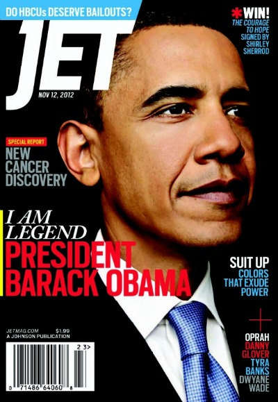 Post image for Election Day Excitement: In the Words of JET Magazine, Our President is LEGEND