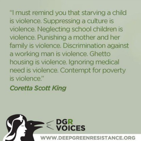 Post image for Coretta Scott King&#8217;s Words On the Violence Of Poverty Still Ring True Today