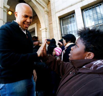 Food Stamp Mayor Cory Booker Challenges Us To Consider the Plight Of the Poor