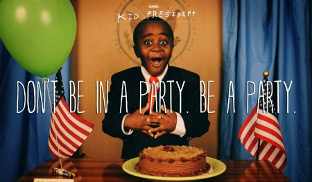 Post image for Kid President: The Best, Most Inspirational Pep Talk EVER, From A Beautiful Black Boy