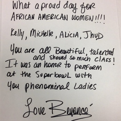 Beyonce Celebrates the Black Women Of the Superbowl—And Other MyBrownBaby Fresh Links