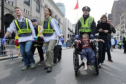 To a 10-Year-Old, Boston Marathon Carnage is Just Another Day in the American News Cycle
