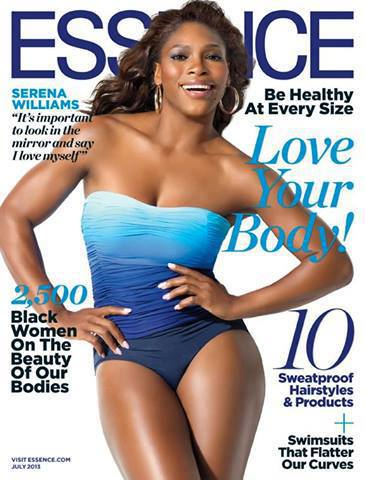 My Serena Williams Essence Cover Story: Talking Tennis, Curves & Loving Yourself Completely