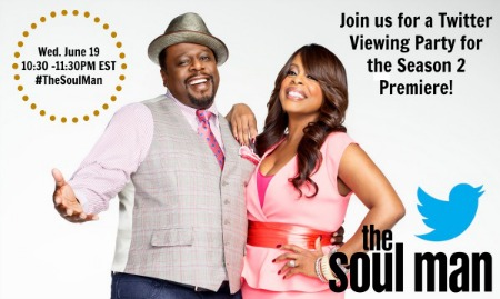 'Soul Man' Season Two Twitter Party: Join @MyBrownBaby & @BlackAndMarried Tonight!