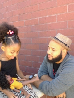 The Skin She's In: A Black Dad Ponders Colorism's Effect On His Light-Skinned Daughter