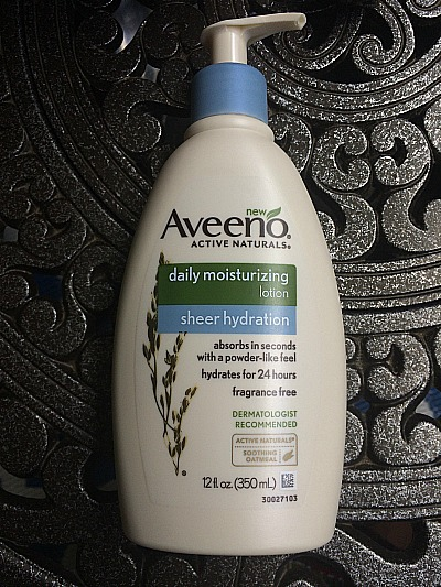 A Great Moisturizer For Black Skin: AVEENO® Daily Moisturizing Sheer Hydration Lotion | MyBrownBaby